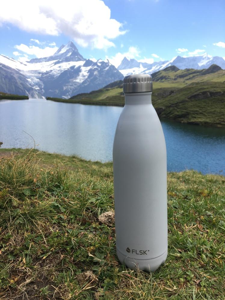 FLSK Trinkflasche Wanderung Bachalpsee